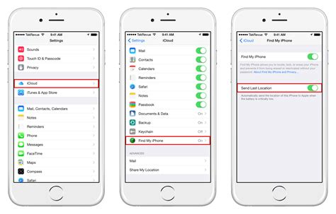 location on iphone send last location in ios 8 helps find your dead iphone