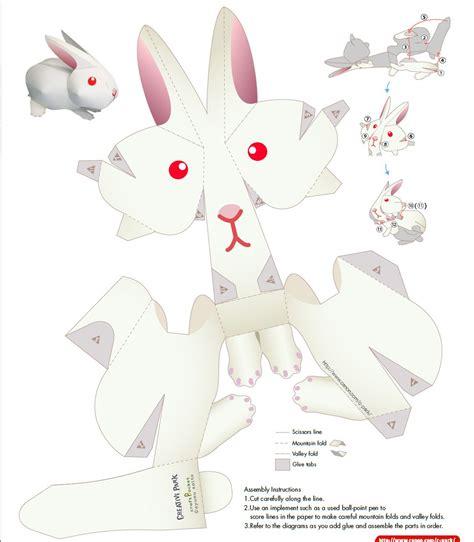 conejo de papel easter bunny cutout wielkanoc paper crafts paper dolls i paper