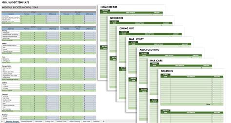 home design and remodeling free monthly budget templates smartsheet