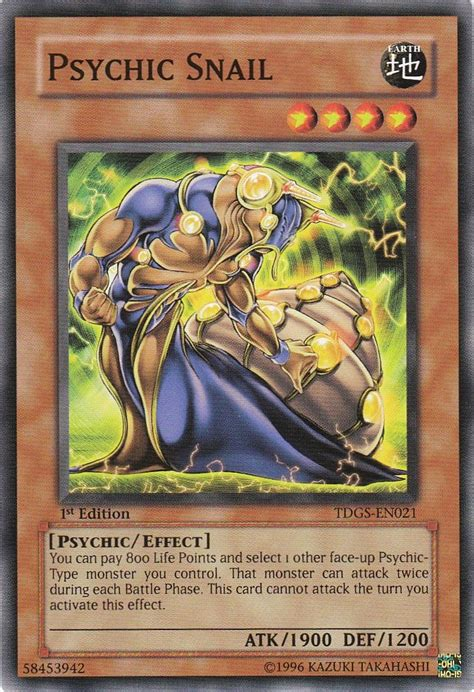 psychic cards snail yugioh duel links gi yu oh combos card hyper blaster wikia zero currently damage introduced should they