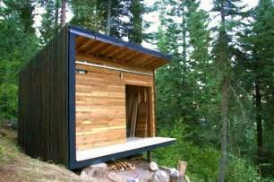 shed style signal shed a micro modern cabin prefab inhabitat