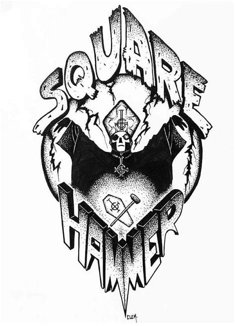 Square Hammer - Ghost | If You Have GHOST | Pinterest | Squares, Ghost bc and Band ghost