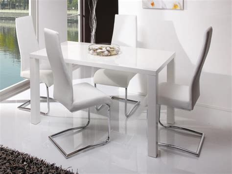 White Dining Room Chairs by 20 Best Ideas Gloss White Dining Tables And Chairs