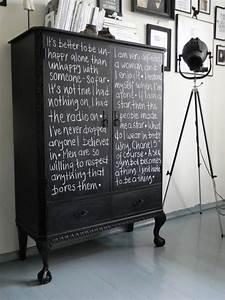 Schrank Bemalen Ideen : diy projekt schrank mit tafellack bemalen ideen rund ums haus in 2019 chalkboard paint ~ Orissabook.com Haus und Dekorationen