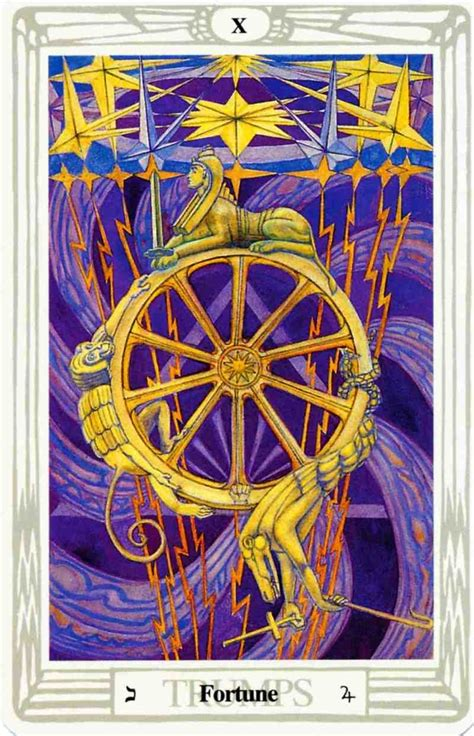thoth deck the fortune tarot card from the thoth deck by aleister