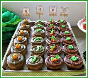 Garden Rows Cupcakes - CakeCentral com