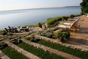 Terraced lakefront - Contemporary - Landscape - milwaukee