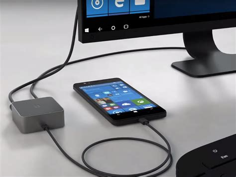 microsoft s display dock will turn your phone into a windows 10 pc stuff