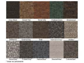 Owens Corning Architectural Shingle Colors