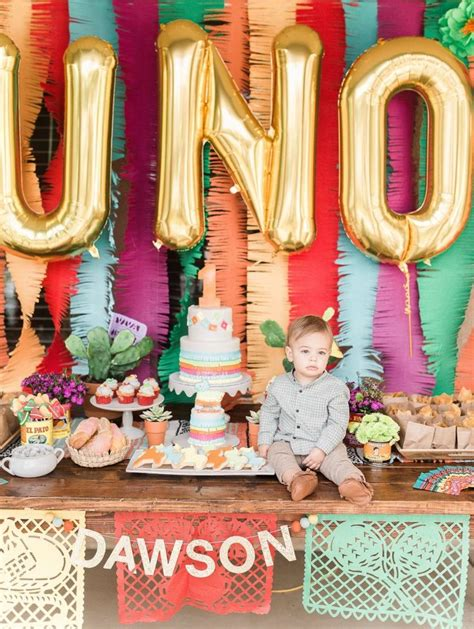 1st birthday party ideas boy happy idea on mexican kids birthday party mexican