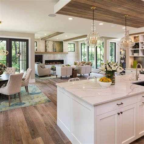 open kitchen designs with island 75 trendy open concept kitchen design ideas pictures of