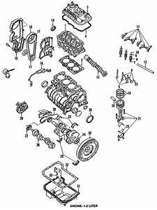 Engine Parts For 1992 Subaru Justy