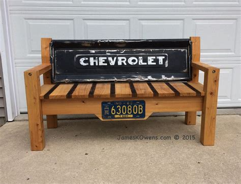 truck tailgate bench dale s tailgate bench jameskowens bench