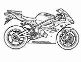 Coloring Pages Motorcycle Racing Motorbike Printable Kawasaki Bike Kx100 Motorbikes Yescoloring Competition Preschoolers Colouring sketch template