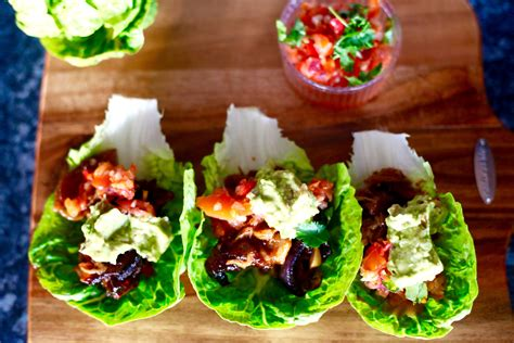 recipes pulled pork lettuce tacos rhyme ribbons