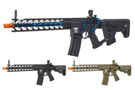 Lancer Tactical Pro-Line Nightwing Carbine AEG Airsoft Rifle