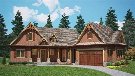 rustic cottage home plan 15882ge architectural designs house plans