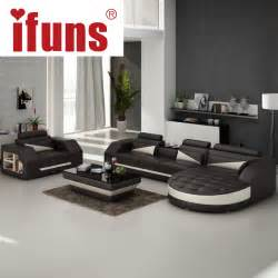 Leather Living Room Sets with Sofa Bed