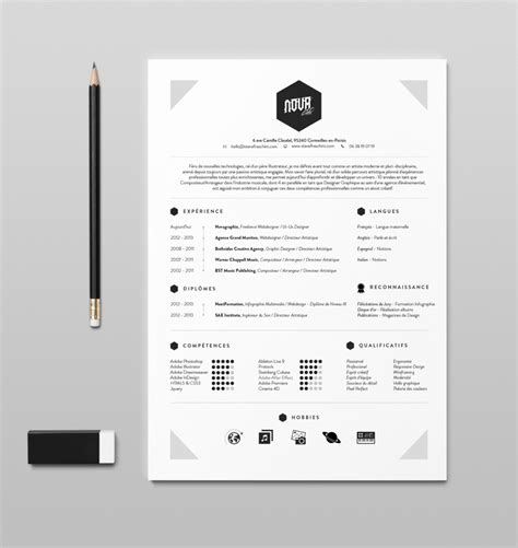 70 well designed resume exles for your inspiration