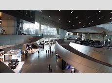 BMW's museum interior Picture of BMW Museum, Munich