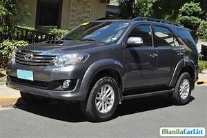 Toyota Fortuner Manual 2013 For Sale