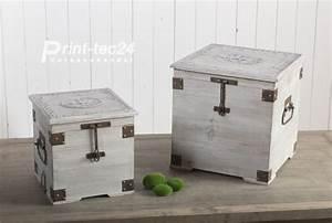 Wäschetruhe Holz Weiß : holztruhe w schetruhe truhe holz gartentruhe gartenbox holzbox grau wei ebay ~ Indierocktalk.com Haus und Dekorationen
