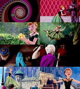 Frozen - For the First Time in Forever - Princess Anna ...