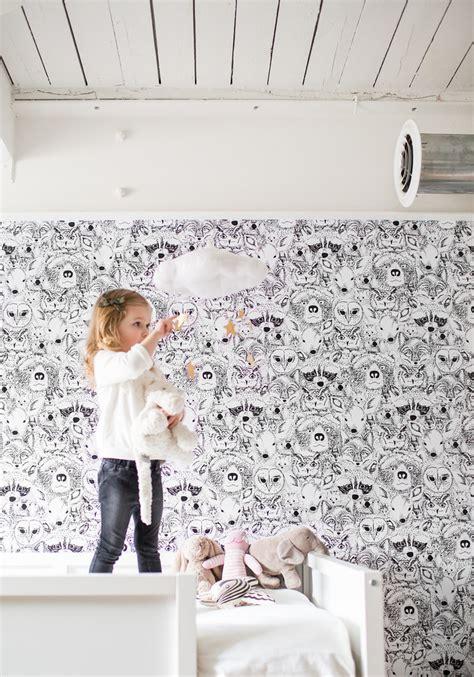 Whimsical Animal Wallpaper - decor spotlight whimsical animal wallpaper