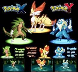 the brand new pokemon sereis pokemon x