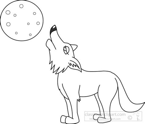 coyote clipart black and white animals coyote black white outline clipart 7213
