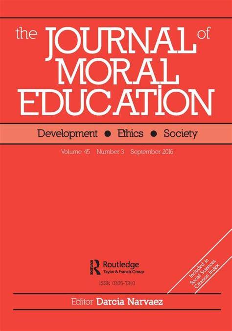 professional ethics education  future teachers