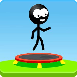 Trampoline Man (Stickman Game) Android Apps on Google Play