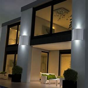 Up And Down Lampen Aussen : 5er set led wandleuchten aus verzinktem stahl corfino ~ Whattoseeinmadrid.com Haus und Dekorationen