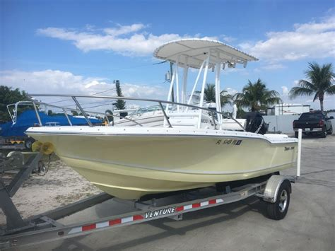 Boat Trailers For Sale Fort Myers Fl by 2010 Tidewater 180 Cc Used Boat Fort Myers Like New Boat