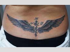 Tatouage Ange Bas Du Dos Femme Tattoo Art
