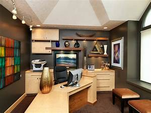 17 Gray Home Office Furniture Designs Ideas Plans