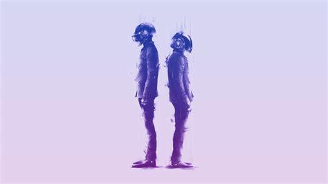 standing, Daft Punk, music, artwork, simple background ...