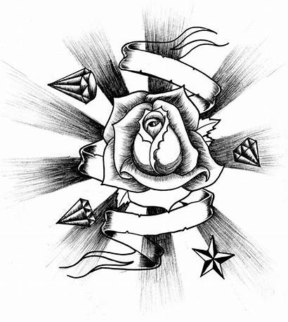 Rose Drawing Tattoo Drawings Roses Attempt Schools