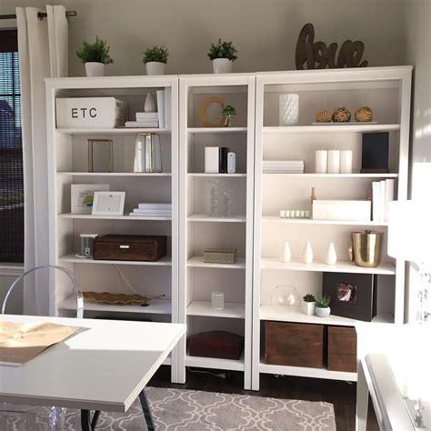 Ikea White Hemnes Bookcase by Ikea Hemnes Bookshelf Wood White And Gold