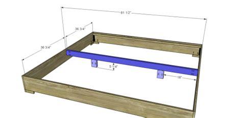 king bed frame woodworking plans woodshop plans