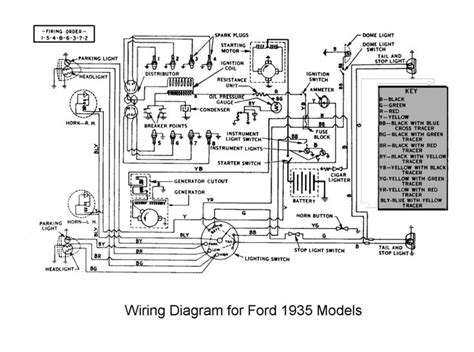 Ford Truck Wiring Diagrams Flathead Electrical