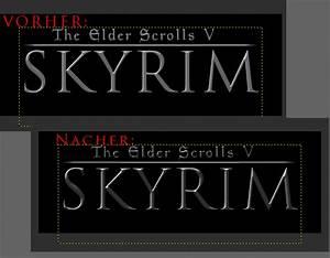 2D - [Tutorial] Skyrim Titel Schrift in GIMP erzeugen ...