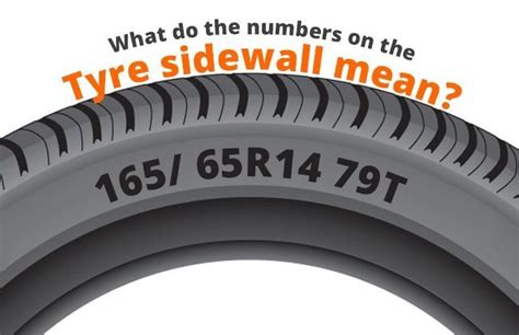 What Do The Numbers On The Tyre Sidewall Mean?
