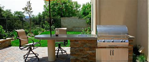 modular outdoor kitchens outdoor kitchen kits vs modular vs built in comparing