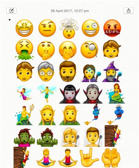 How To Get Latest Unicode Ios 11 Emojis On Ios 10/9