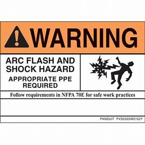 Independent electric supply safety labelling for How to read arc flash labels