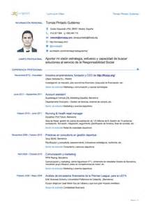 Europass Cv English Example Doc Example Good Resume Template