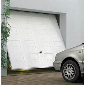 Volet Roulant Fermoba : porte de garage basculante d bordante avec rails panneau ~ Premium-room.com Idées de Décoration