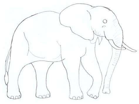 Wie Malt Einen by Wie Malt Einen Elefanten Anleitung Dekoking