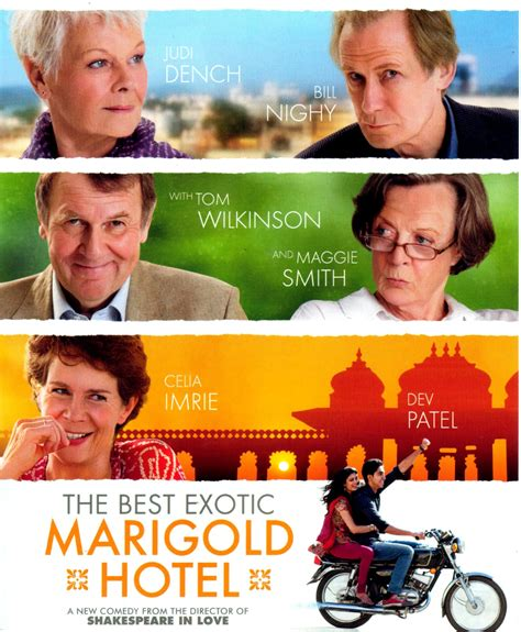 Best Marigold Hotel 2 by Bill S Ponderings The Best Marigold Hotel Pg